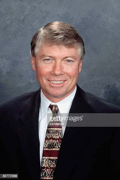 Bob Clarke of the Philadelphia Flyers poses for a portrait at Wachovia Center on September 14 2005 in Dallas Texas