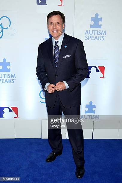 Bob Costas attends Lead Off For A Cure Autism Speaks and Major League Baseball join forces at The Metropolitan Museum Of Art on May 9 2016 in New...