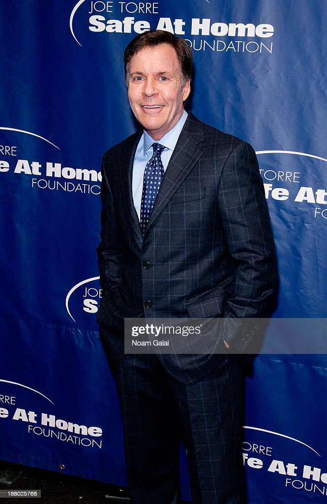 <a gi-track='captionPersonalityLinkClicked' href=/galleries/search?phrase=Bob+Costas&family=editorial&specificpeople=225170 ng-click='$event.stopPropagation()'>Bob Costas</a> attends the 11th Anniversary Joe Torre Safe At Home Foundation Gala at Pier Sixty at Chelsea Piers on November 14, 2013 in New York City.