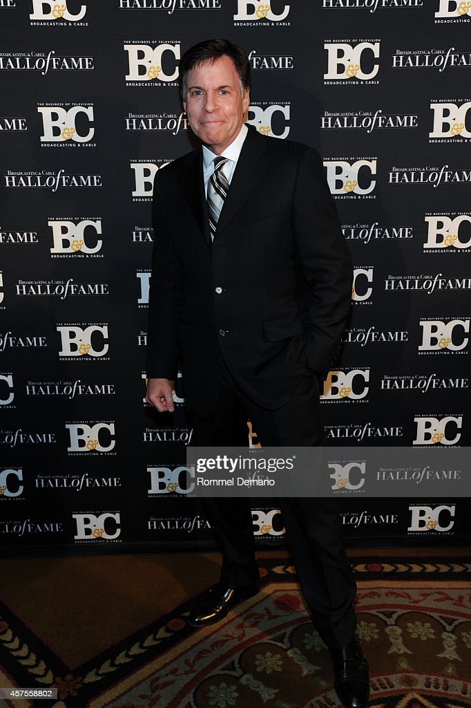 Bob Costas attends the 24th Annual Broadcasting Cable Hall Of Fame Awards at The Waldorf Astoria on October 20 2014 in New York City