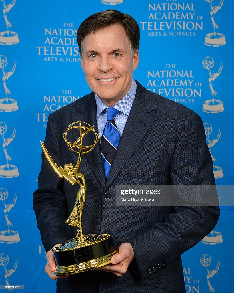 <a gi-track='captionPersonalityLinkClicked' href=/galleries/search?phrase=Bob+Costas&family=editorial&specificpeople=225170 ng-click='$event.stopPropagation()'>Bob Costas</a> attends the 34th Annual Sports Emmy Awards at Frederick P. Rose Hall, Jazz at Lincoln Center on May 7, 2013 in New York City.