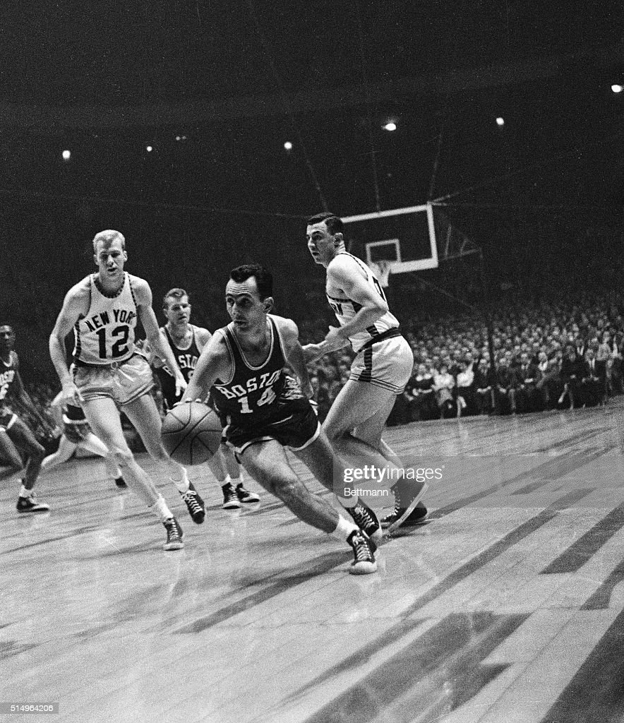 Bob Cousy Against New York Knicks