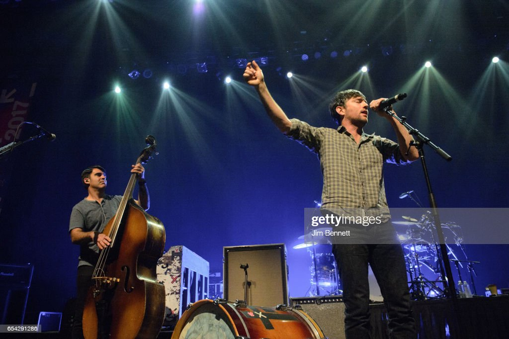 Bob Crawford and Scott Avett of the Avett Brothers performs live at ACL Live at the Moody Theater during the SxSW Music Festival on March 15, 2017 in Austin, Texas.