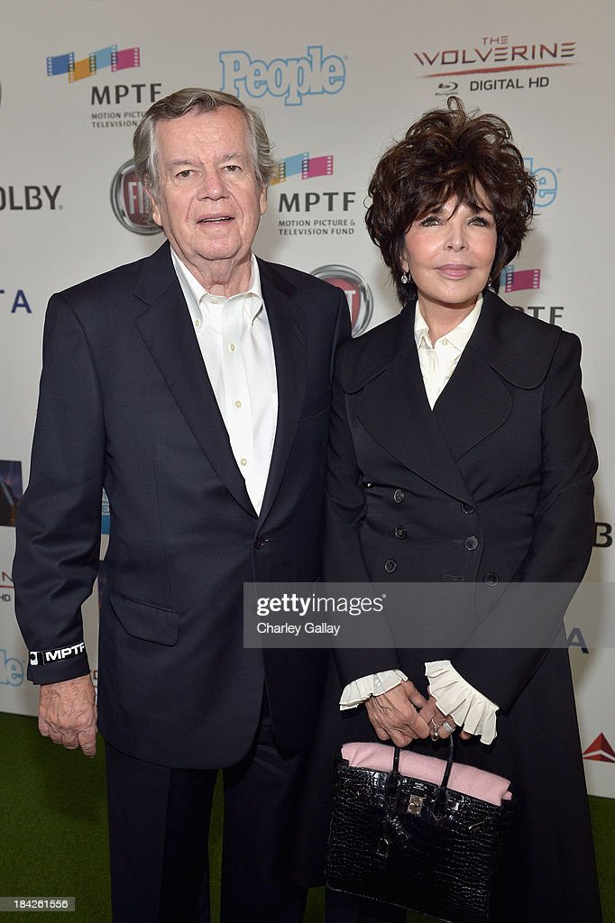 Bob Daly (L) and songwriter Carole Bayer Sager attend 'Hugh Jackman... One Night Only' Benefiting MPTF at Dolby Theatre on October 12, 2013 in Hollywood, California.