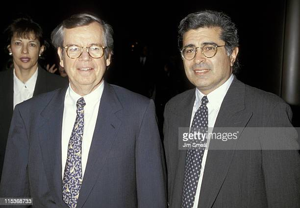 Bob Daly and Terry Semel during 'Boys on the Side' Los Angeles Premiere at The Directors Guild of America Theatre in Los Angeles California United...
