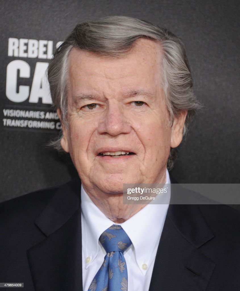 Bob Daly arrives at the 2nd Annual Rebel With A Cause Gala at Paramount Studios on March 20, 2014 in Hollywood, California.