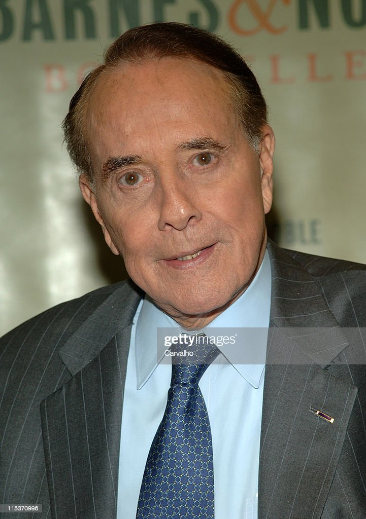 <a gi-track='captionPersonalityLinkClicked' href=/galleries/search?phrase=Bob+Dole&family=editorial&specificpeople=118596 ng-click='$event.stopPropagation()'>Bob Dole</a> during <a gi-track='captionPersonalityLinkClicked' href=/galleries/search?phrase=Bob+Dole&family=editorial&specificpeople=118596 ng-click='$event.stopPropagation()'>Bob Dole</a> Signs His Book 'One Soldier's Story' at Barnes & Noble in New York City at Barnes & Noble in New York City, New York, United States.
