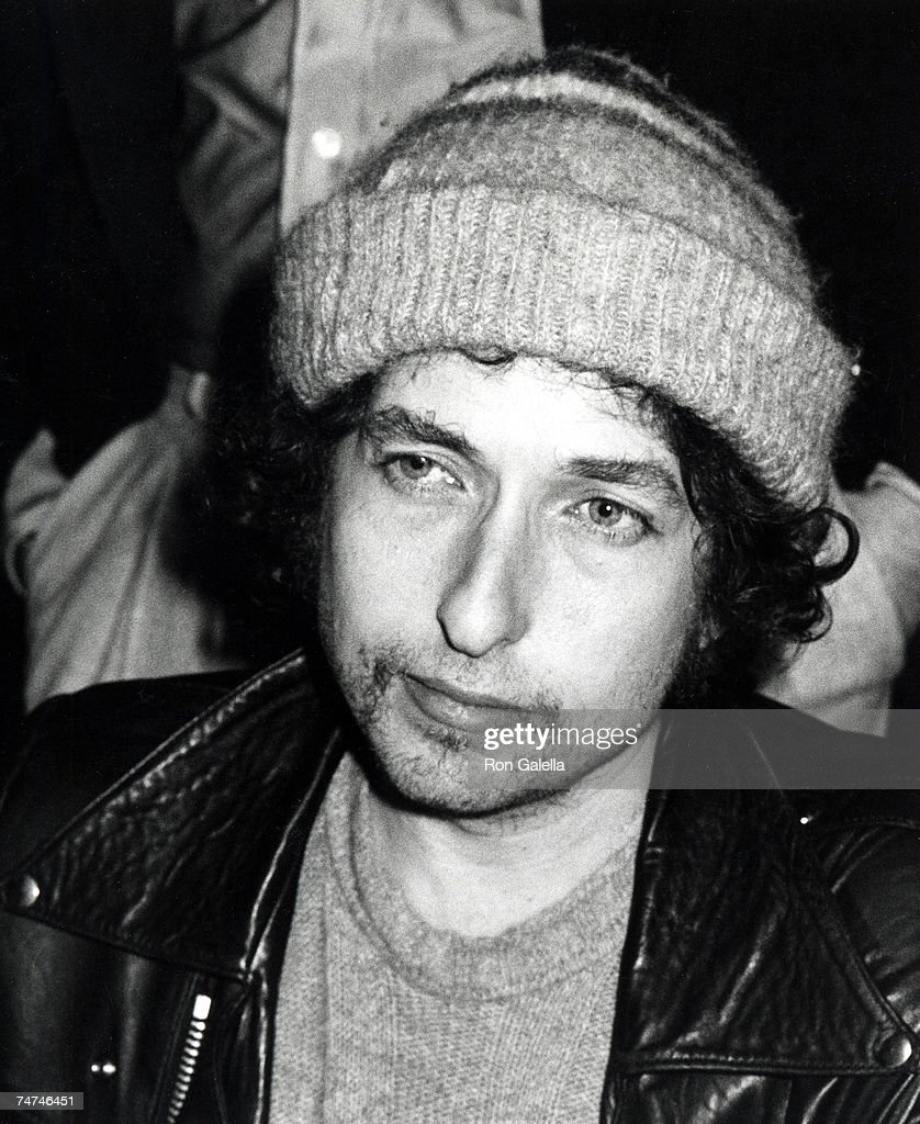 Bob Dylan at the Chasen's Restaurant in Beverly Hills, California