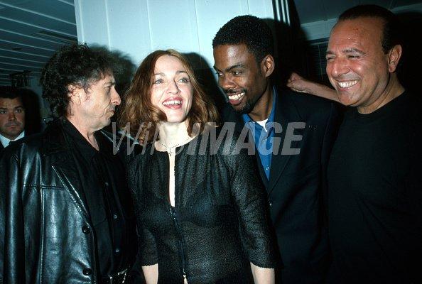 Bob Dylan Madonna Chris Rock...