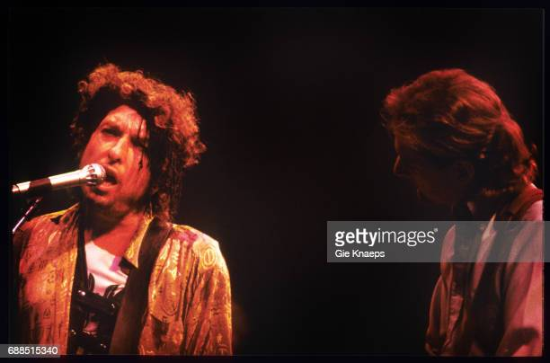 Bob Dylan Roger McGuinn Vorst Nationaal Brussels Belgium