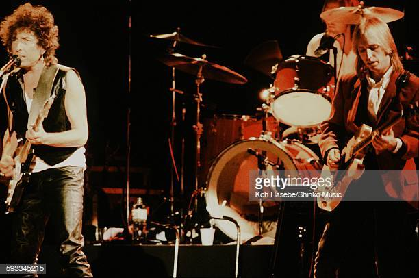 Bob Dylan with Tom Petty and Heartbreakers Bob Dylan Tom Petty live at Nippon Budokan Tokyo March 10 1986