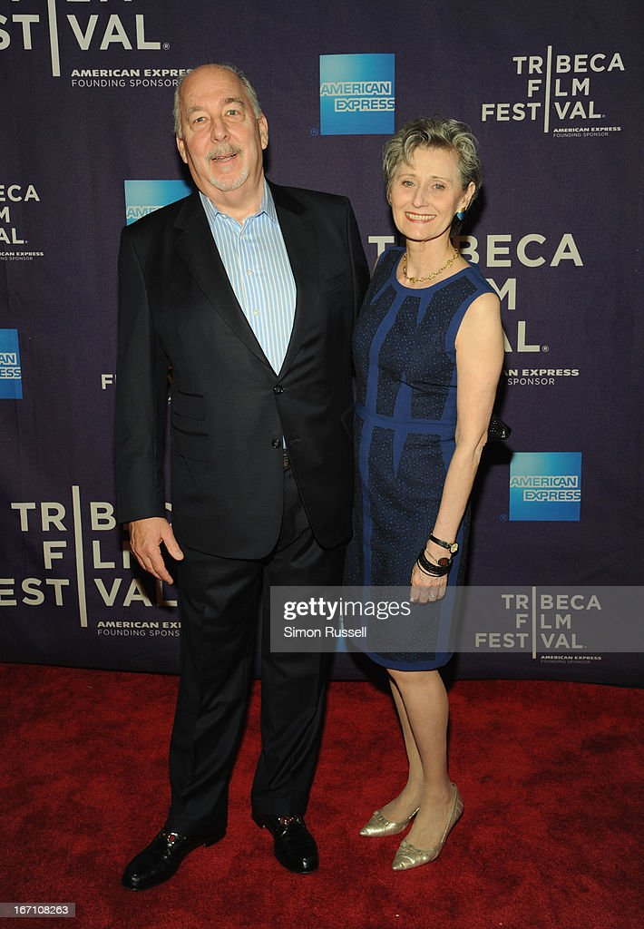 Bob Eisenhardt and Yvonne Marceau attend the 'Dancing In Jaffa' World Premiere at the AMC Loews Village 7 during the 2013 Tribeca Film Festival on April 20, 2013 in New York City.