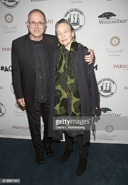 Bob Ezrin and Laurie Anderson attends the 15th Annual 'A Great Night in Harlem' Gala at The Apollo Theater on October 27 2016 in New York City
