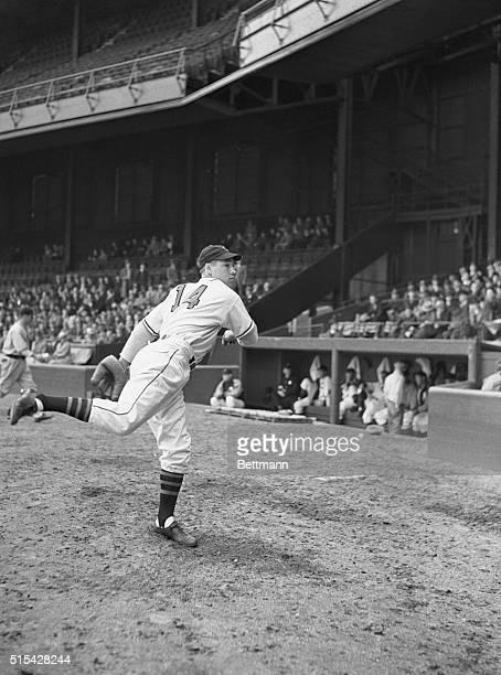 Bob Feller Cleveland Indians Pitcher