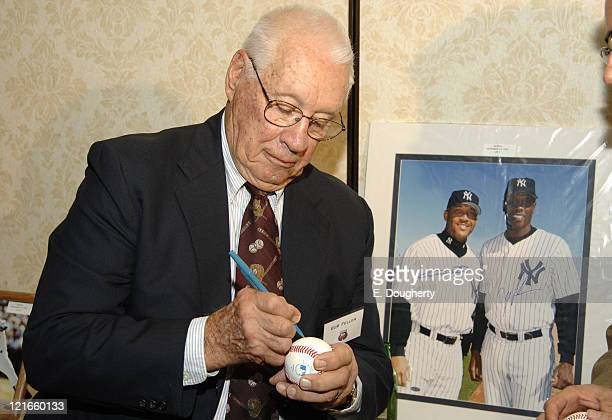 Bob Feller Hall of Fame pitcher from the Cleveland Indians from 1936 to 1956 at The 6th Annual Major League Baseball Players Alumni Dinner ath the...