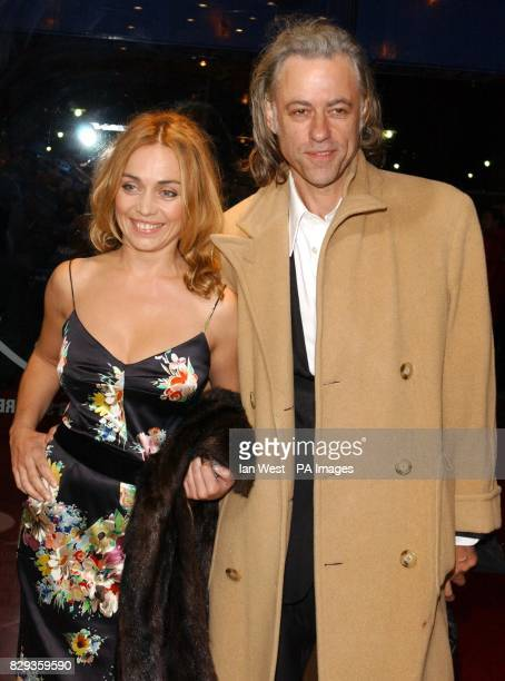 Bob Geldof and Jeanne Marine arrive for the world charity premiere of Alfie at the Empire Leicester Square in central London in aid of MakeAWish...