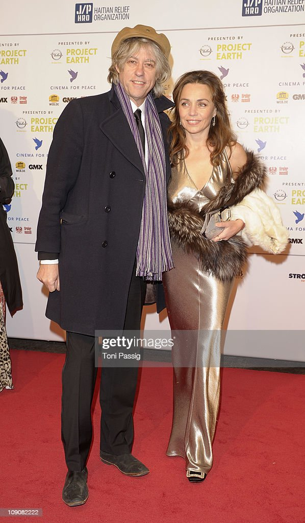 Bob Geldof and Jeanne Marine attend the Cinema for Peace Gala at the Konzerthaus am Gendarmenmarkt during day five of the 61st Berlin International Film Festival on February 14, 2011 in Berlin, Germany.