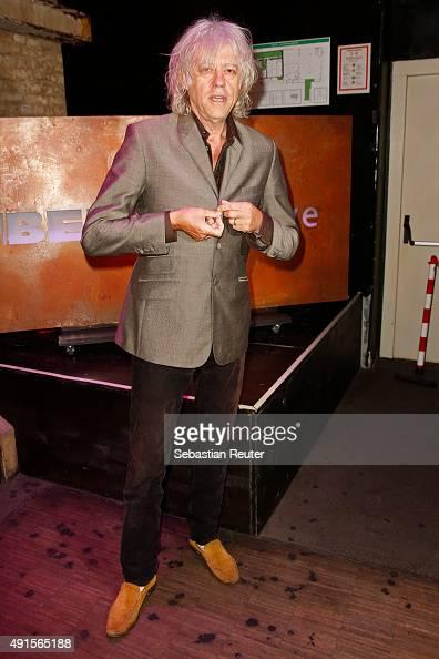 Bob Geldof attends Bob Geldof VIP reception concert in Berlin on October 6 2015 in Berlin Germany