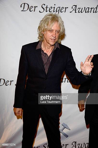 Bob Geldof attends Steiger Award 2014 at the LWLIndustriemuseum Henrichshuette on October 3 2014 in Hattingen Germany
