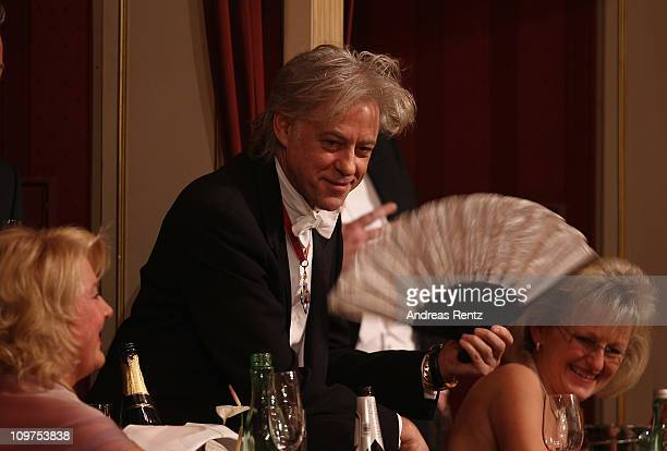 Bob Geldof attends the traditional Vienna Opera Ball at the state opera on March 3 2011 in Vienna Austria