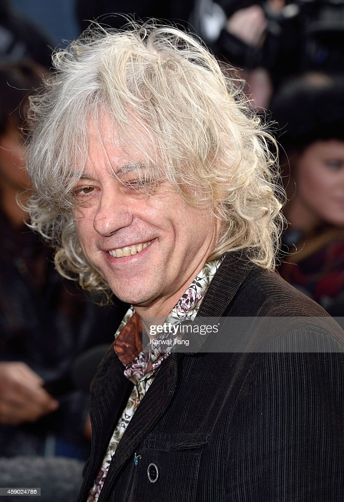 Bob Geldof attends to record the Band Aid 30 single on November 15, 2014 in London, England.
