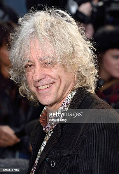 Bob Geldof attends to record the Band Aid 30 single on November 15 2014 in London England