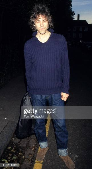 Bob Geldof during Bob Geldof at David Frost's Annual Summer Garden Party in Chelsea at Private Residence in London Great Britain