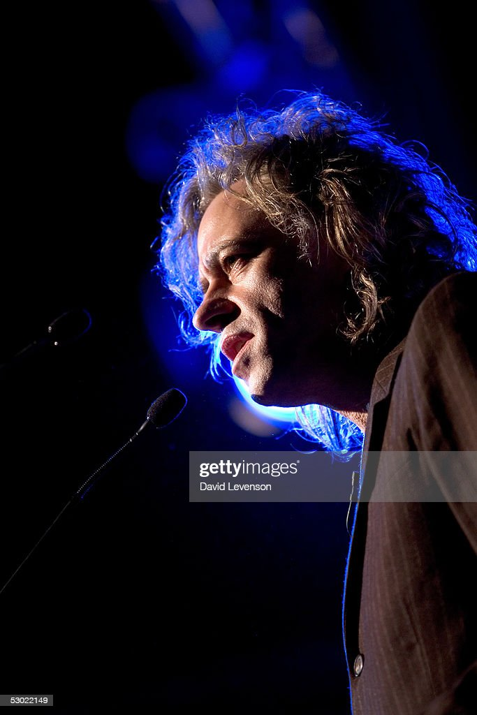 Bob Geldof launches his new book 'Geldof in Africa' and discusses G8 and Live Aid at 'The Guardian Hay Festival 2005' held at Hay on Wye on June 4, 2005 in Powys, Wales. The festival runs until June 5.