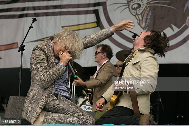 Bob Geldof of The Boomtown Rats performs at Electric Picnic on September 6 2015 in Stradbally Ireland