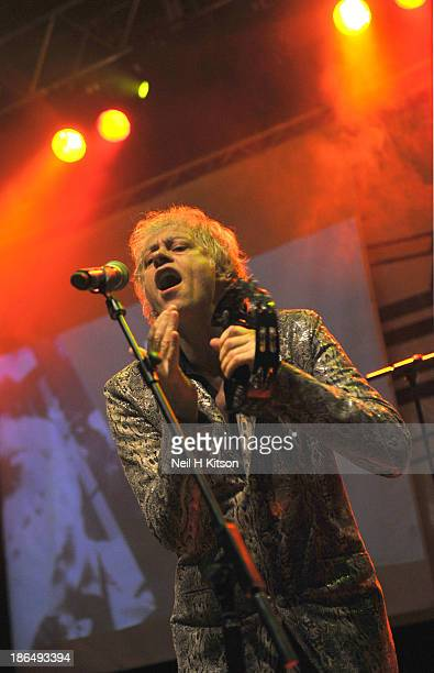 Bob Geldof of The Boomtown Rats performs at the 02 Academy on October 31 2013 in Leeds England