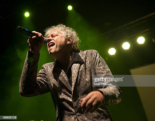 Bob Geldof of The Boomtown Rats performs on stage at O2 Academy on October 22 2013 in Bournemouth England