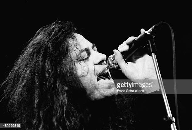 Bob Geldof vocal performs at the Paradiso in Amsterdam the Netherlands on 28th September 1990