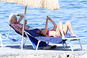 Celebrity Sightings in Ischia - July 15, 2019
