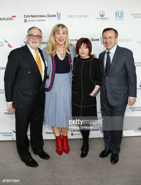 Bob Grimes Margo MacNabb Nederlander Patricia Wexler and Chef Daniel Boulud attend the 31st Annual Citymeals On Wheels Power Lunch For Women at The...