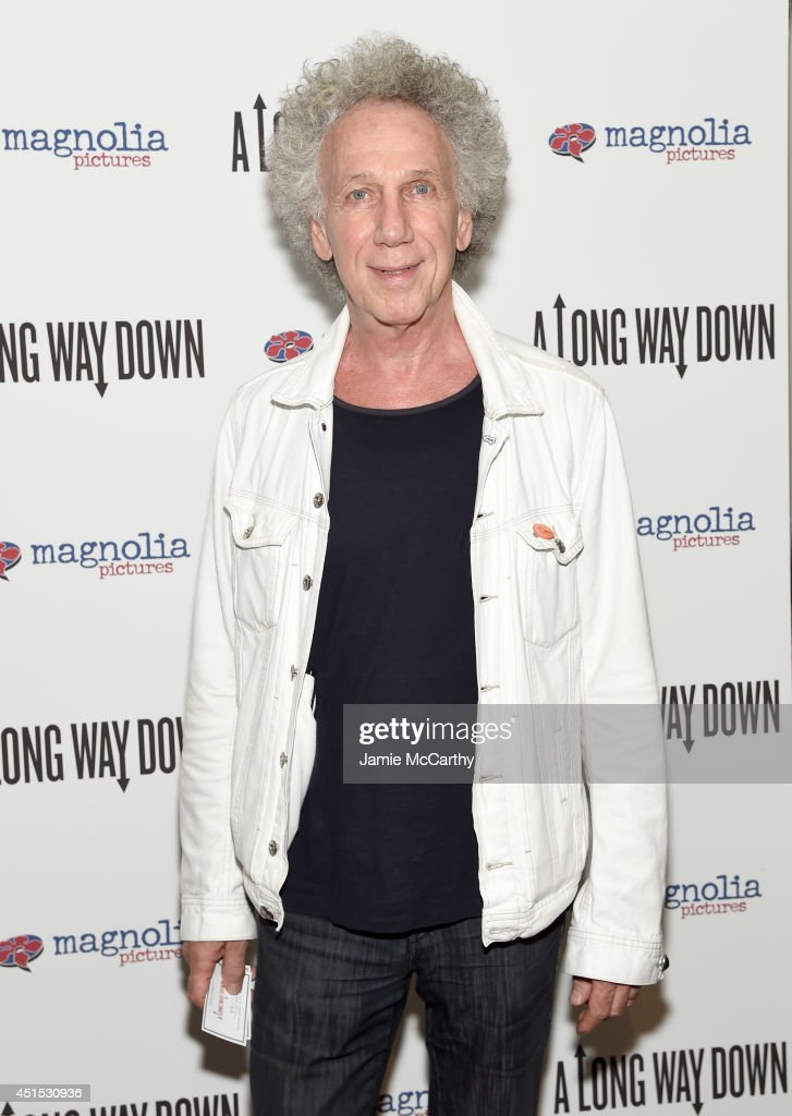 Bob Gruen attends 'A Long Way Down' New York premiere at City Cinemas 123 on June 30, 2014 in New York City.