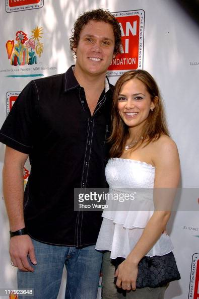 Bob Guiney and Rebecca Budig during 11th Annual Kids for Kids Celebrity Carnival to Benefit the Elizabeth Glaser Pediatric AIDS Foundation Arrivals...