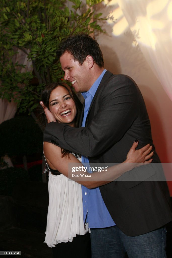 Bob Guiney and Rebecca Budig during Partida Tequila Party at Republic in Los Angeles April 20 2006 at Republic in Los Angeles CA United States