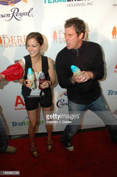 Bob Guiney Rebecca Budig attend the 2nd Annual Derby Spectacular Celebration at Glassworks on May 1 2009 in Louisville Kentucky