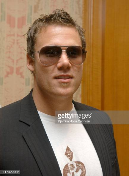 Bob Guiney wearing Marc Jacobs 16S Sunglasses during Solstice Sunglass Boutique at the Lucky/Cargo Club Day 3 at Ritz Carlton in New York City New...