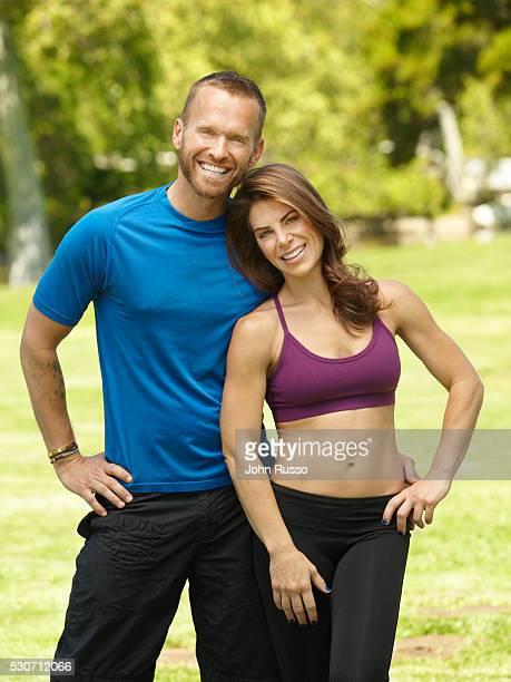 Bob Harper and Jillian Michaels