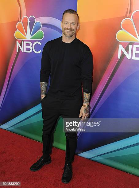 Bob Harper arrives at the 2016 Winter TCA Tour NBCUniversal Press Tour at Langham Hotel on January 13 2016 in Pasadena California