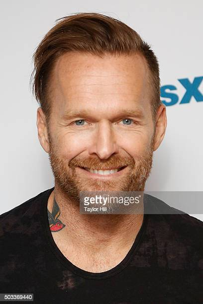 Bob Harper visits the SiriusXM Studios on January 4 2016 in New York City