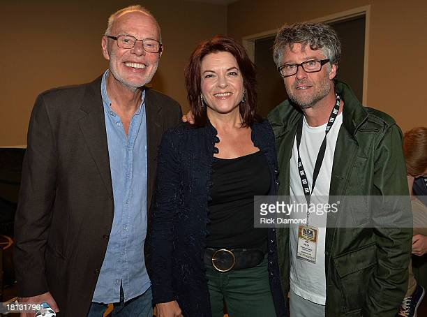 Bob Harris Jed Hilly AMA and Rosanne Cash during The 14th Annual Americana Music Festival Conference Conference Day 2 on September 19 2013 in...
