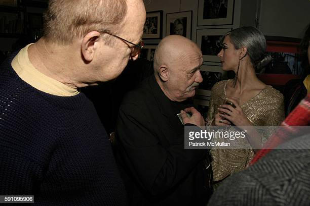 Bob Heide and Aria Pullman attend Edie Sedgwick Unseen Photographs of a Warhol Superstar Opening Reception Hosted by Misha Sedgwick at Gallagher's...