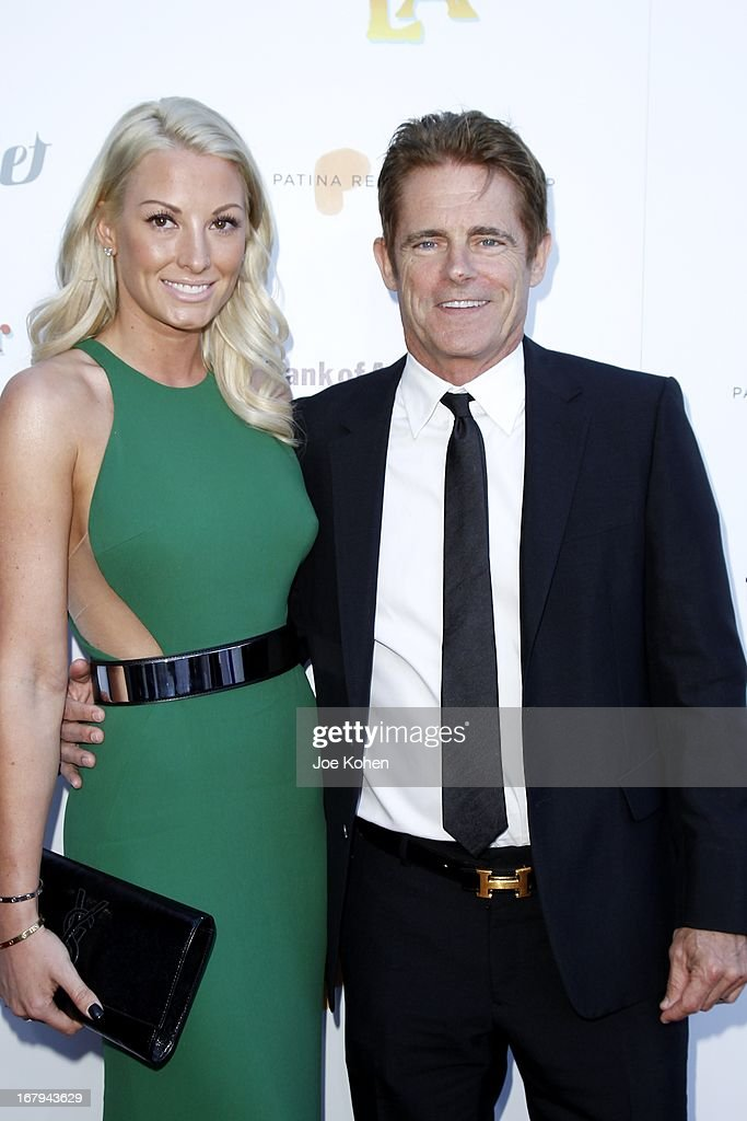 Bob Hoff and Malin Hoff attend a Better LA celebrates 10 Years With 'An Evening With A View' Gala at AT&T Center on May 2, 2013 in Los Angeles, California.