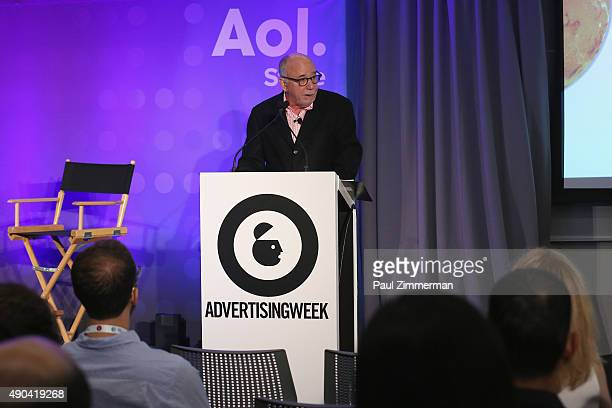 Bob Hoffman CEO of HoffmanLewis and The Ad Contrarian speaks onstage at the 'Truth Lies Digital' panel during Advertising Week 2015 AWXII at...