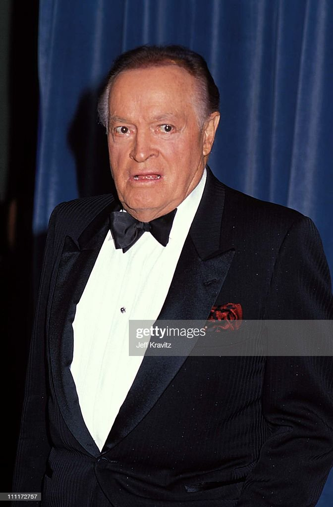 Bob Hope during 1989 Emmy Awards in Los Angeles, California, United States.