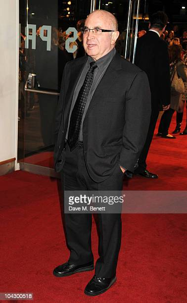 Bob Hoskins arrives at the World premiere of 'Made In Dagenham' at the Odeon Leicester Square on September 20 2010 in London England
