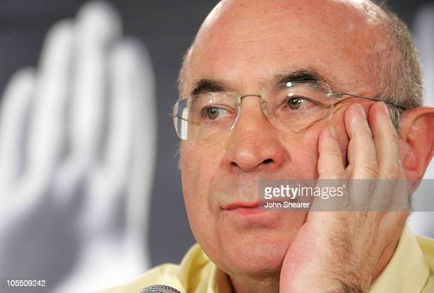 Bob Hoskins during 2005 Toronto Film Festival 'Mrs Henderson Presents' Press Conference at Sutton Place Hotel in Toronto Canada