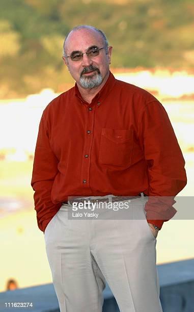 Bob Hoskins during San Sebastian Film Festival Bob Hoskins Photocall at San Sebastian Film Festival in San Sebastian Spain